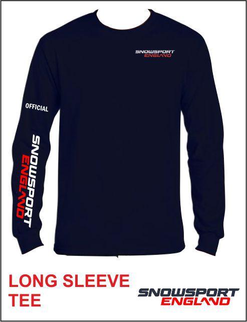 Ls Tee Navy Front