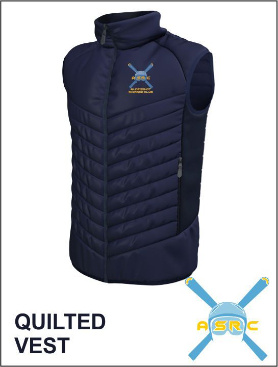 Quilted Vest Front