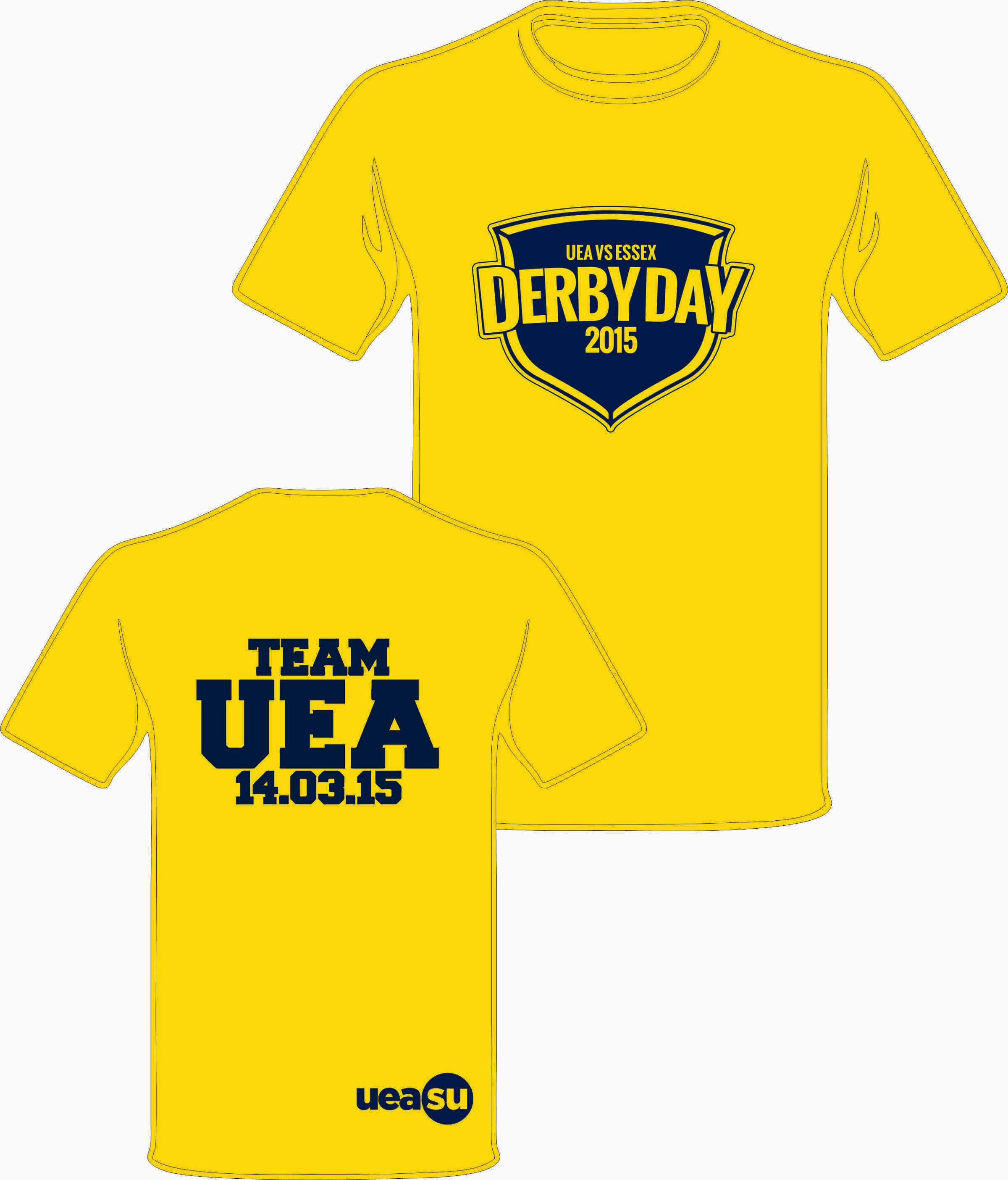 Uea Derby Day T-shirt
