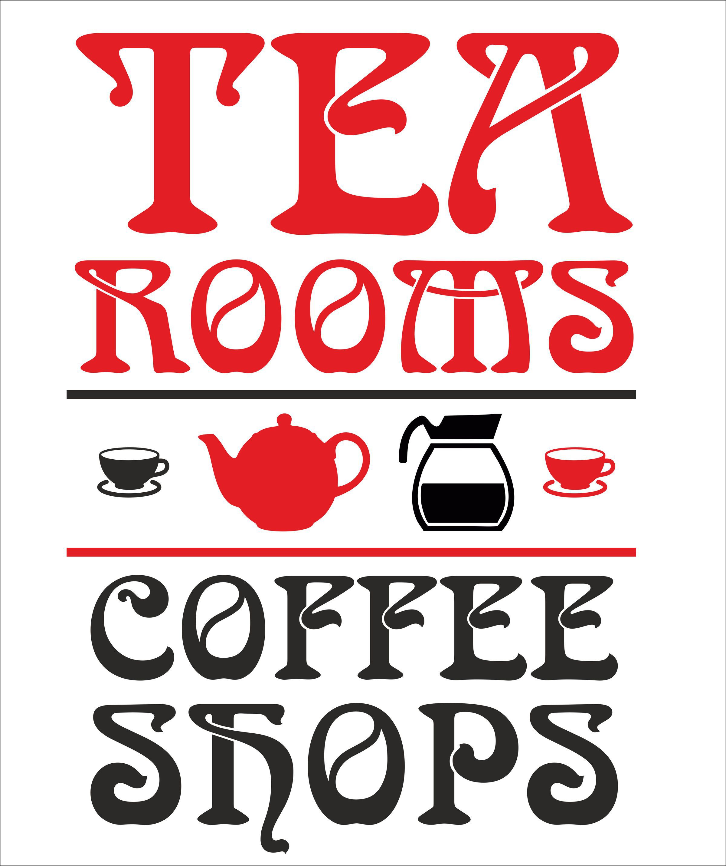 Tea Rooms And Coffee Shops