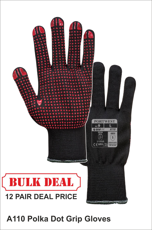 A110 Grip Gloves Bulk Deal Price