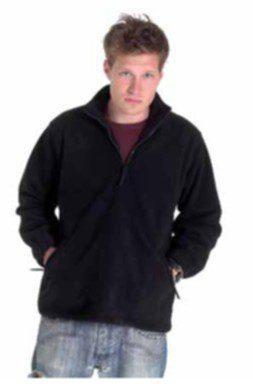 Fleece Jacket Full Zip Black
