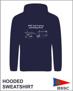 Hoody Navy Back