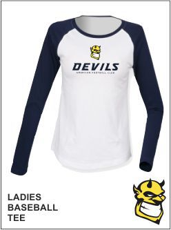 Ladies Baseball Tee Front