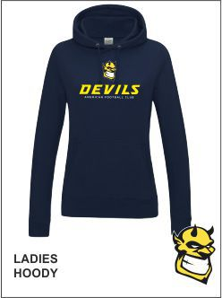 Ladies Hoody Front