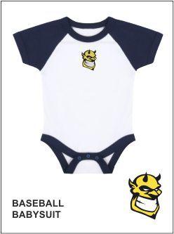 Baseball Babysuit